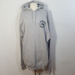 NWT Hecho En Mexico Grey Hooded Sweatshirt XXL
